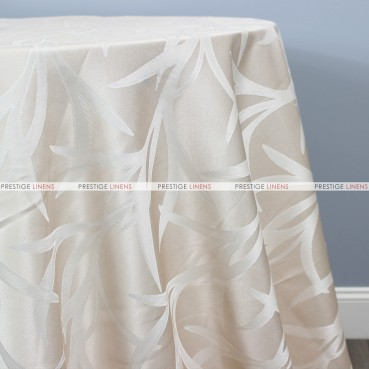 CARIBOU TABLE LINEN - PEARL