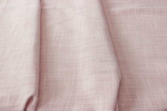 Dublin Linen Table Runner - Blush
