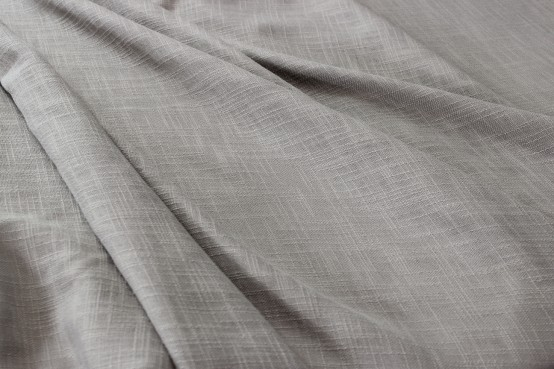 Dublin Linen - Fabric by the yard - Silver