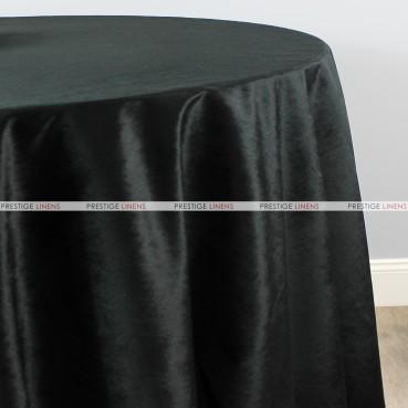 VELVETEEN TABLE LINEN - BLACK