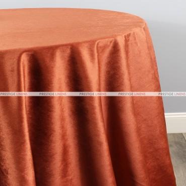 VELVETEEN TABLE LINEN - COPPER