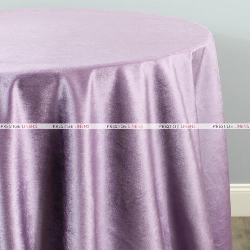 Velveteen Table Linen Lilac Prestige Linens