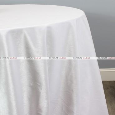 VELVETEEN TABLE LINEN - WHITE
