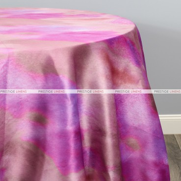 TIE DYE TABLE LINEN - AUTUMN