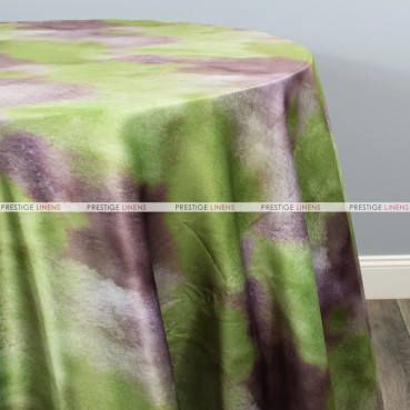 TIE DYE TABLE LINEN - PLUM