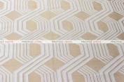 Geometric Jacquard Table Linen - Gold