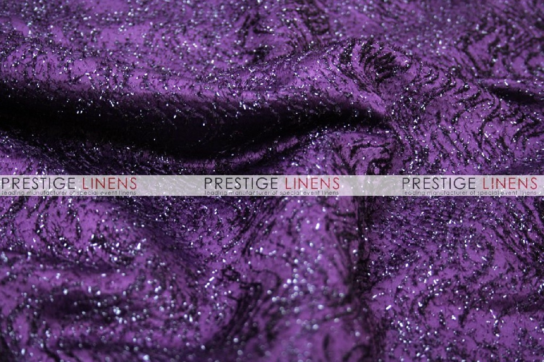 Sparkle Dust Draping Plum Prestige Linens