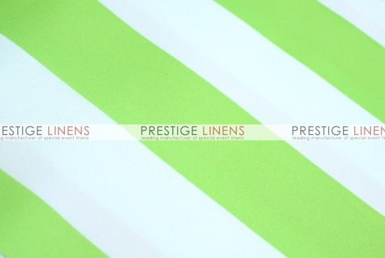 Striped Print Poly Draping - Kiwi