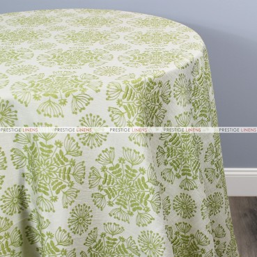 DANDELION TABLE LINEN - APPLE