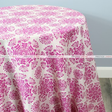 DANDELION TABLE LINEN - BERRY