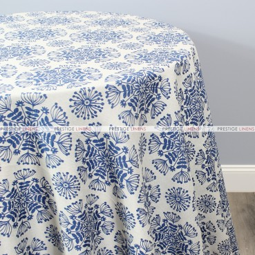 DANDELION TABLE LINEN - BLUE