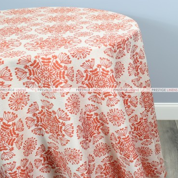 DANDELION TABLE LINEN - ORANGE