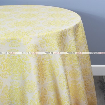 DANDELION TABLE LINEN - YELLOW