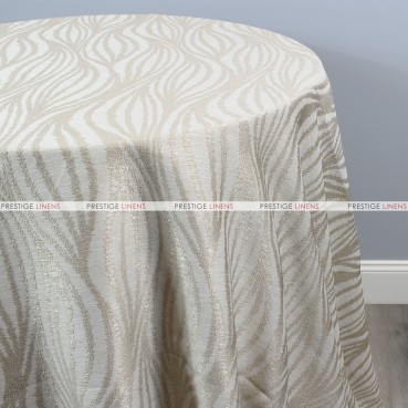 STATIC TABLE LINEN - CHAMPAGNE