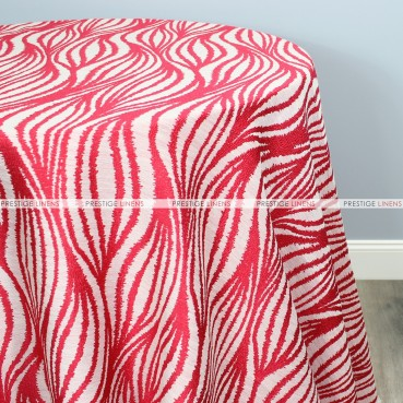 STATIC TABLE LINEN - RED
