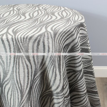 STATIC TABLE LINEN - SILVER