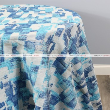 PATCHWORK TABLE LINEN - BLUE