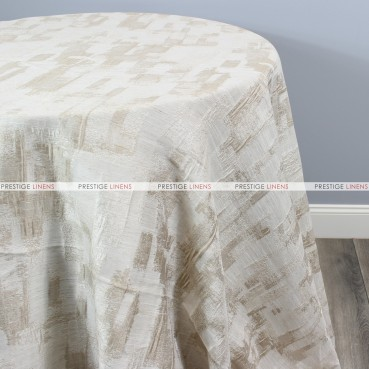 PATCHWORK TABLE LINEN - CHAMPAGNE