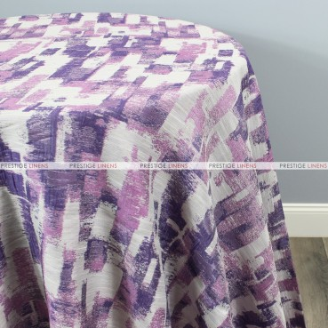 PATCHWORK TABLE LINEN - PURPLE