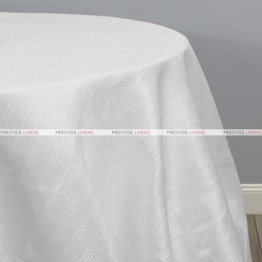 VIENNA TABLE LINEN - WHITE
