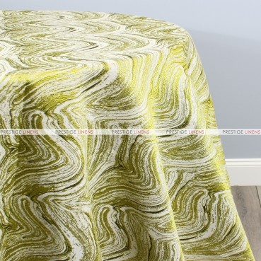 ALPINE TABLE LINEN - CHARTREUSE