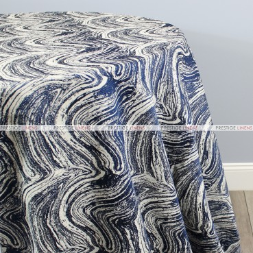 ALPINE TABLE LINEN - NAVY