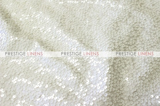 Taffeta Sequins Embroidery Draping - Ivory