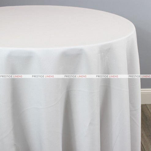 Polyester Table Linen - 126 White