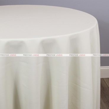 Polyester Table Linen - 128 Ivory