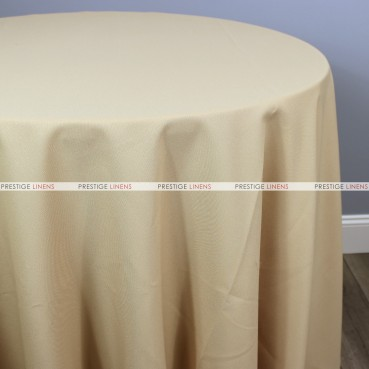 Polyester Table Linen - 130 Champagne
