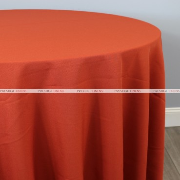 Polyester Table Linen - 337 Rust