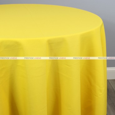 Polyester Table Linen - 426 Yellow