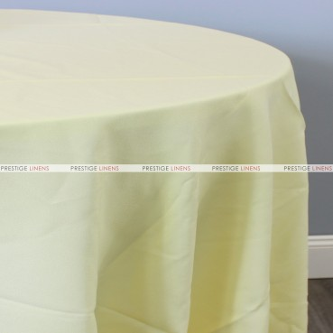 Polyester Table Linen - 427 Lt Yellow