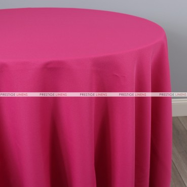 Polyester Table Linen - 529 Fuchsia