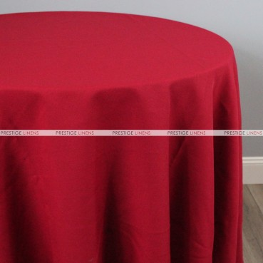Polyester Table Linen - 627 Cranberry