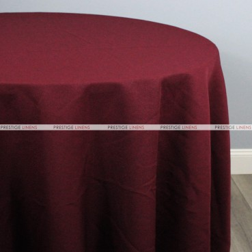 Polyester Table Linen - 628 Burgundy