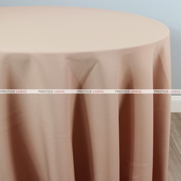 Polyester Table Linen - 155 Nude