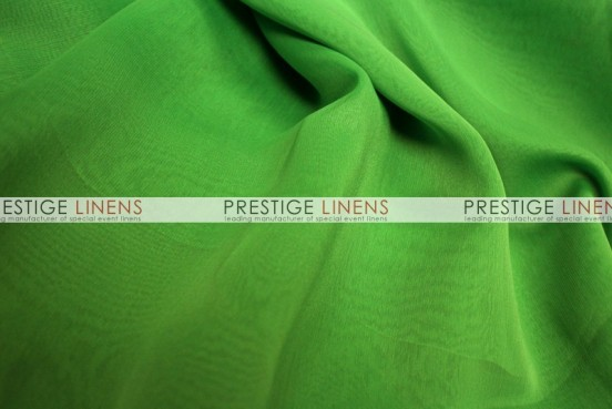 Two Tone Chiffon Draping - Apple Green