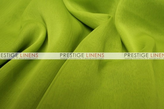 Two Tone Chiffon Draping - Avocado
