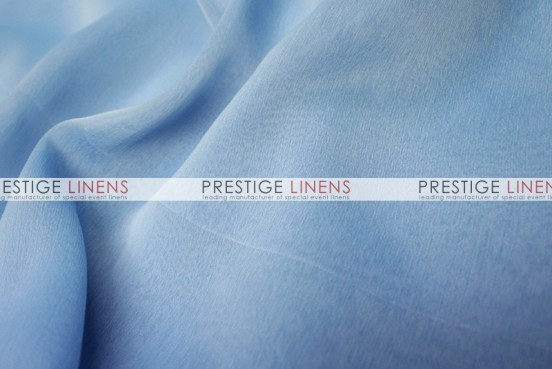Two Tone Chiffon Draping - Baby Blue