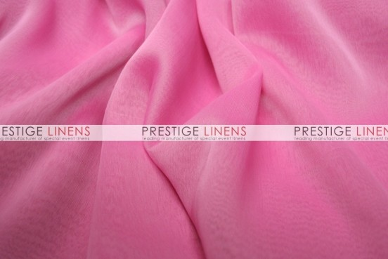 Two Tone Chiffon Draping - Bubble Gum