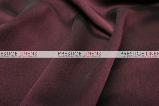 Two Tone Chiffon Draping - Burgundy