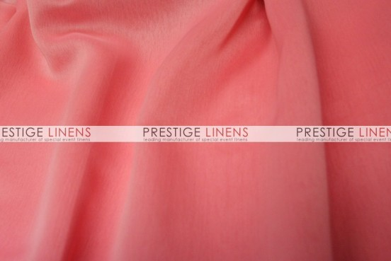 Two Tone Chiffon Draping - Coral