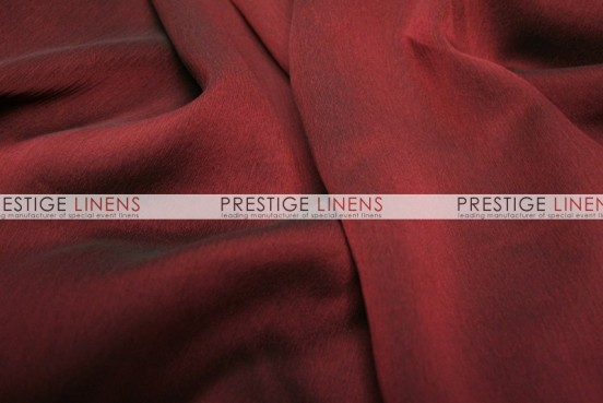 Two Tone Chiffon Draping - Cranberry