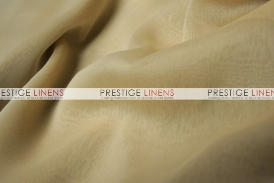 Two Tone Chiffon Draping - Cream
