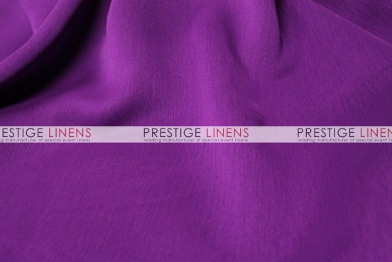 Two Tone Chiffon Draping - Eggplant
