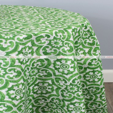 POLY PRINT ATHENS TABLE LINEN - HERB