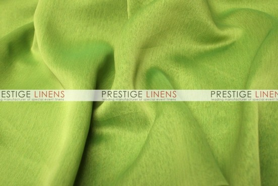 Two Tone Chiffon Draping - Lime