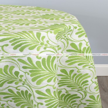 POLY PRINT ECUADOR TABLE LINEN - GREENERY