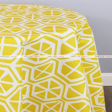 POLY PRINT AIDEN TABLE LINEN - PINEAPPLE